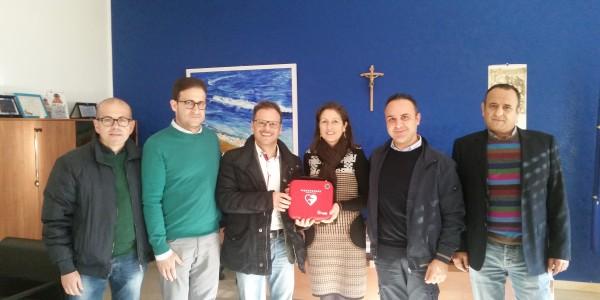 """Defibrillatore all'Istituto Comprensivo Statale """"Gesualdo Bufalino"""""""