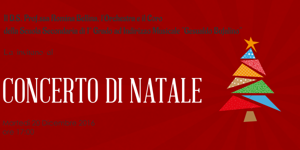 Invito al Concerto di Natale 2016