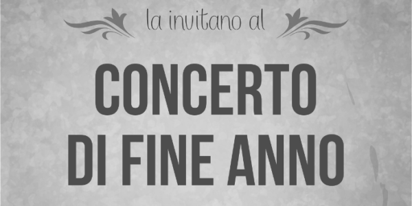 Invito al Concerto Finale a.s. 2016/2017